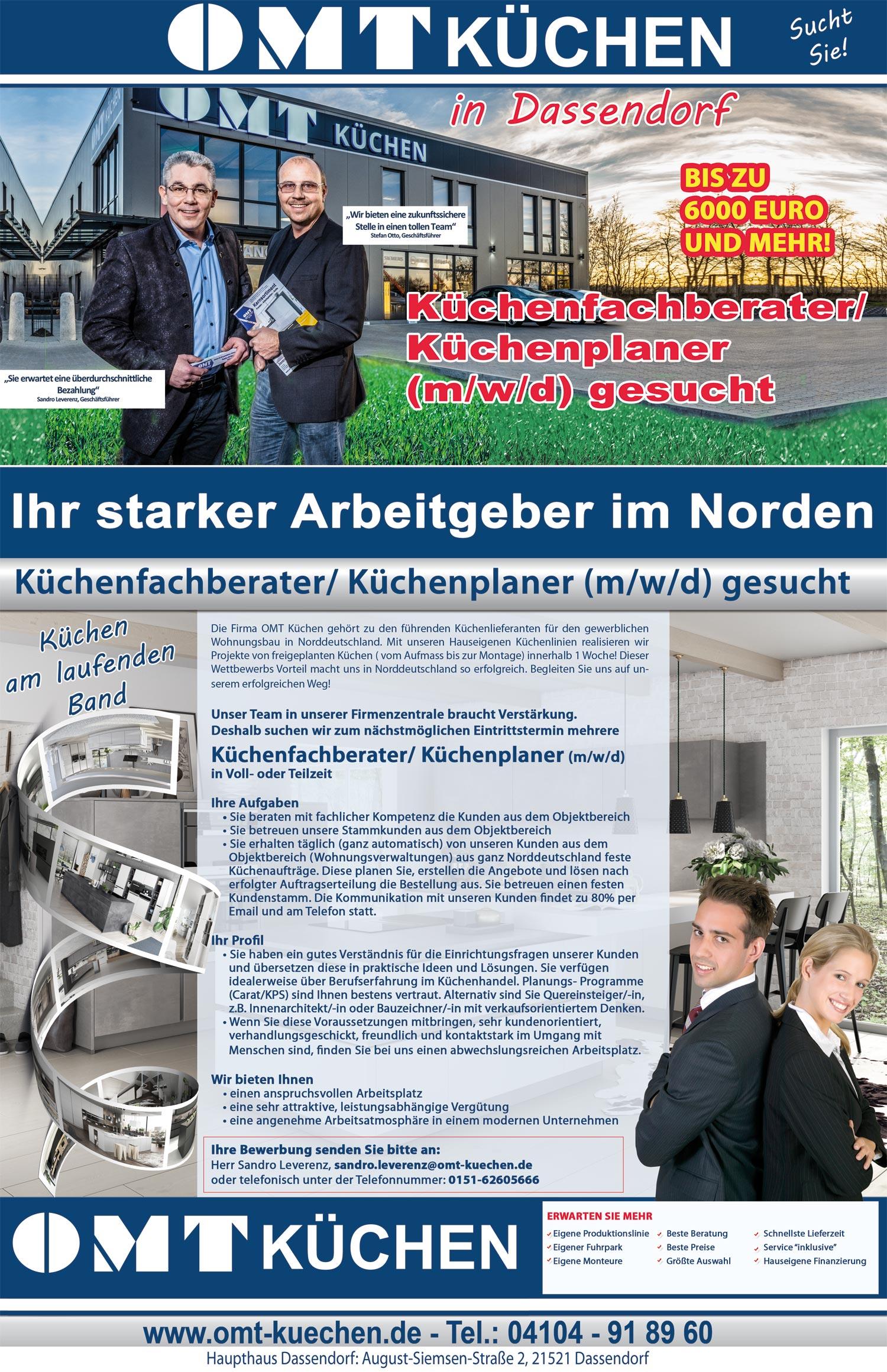Stellenangebot Hamburg